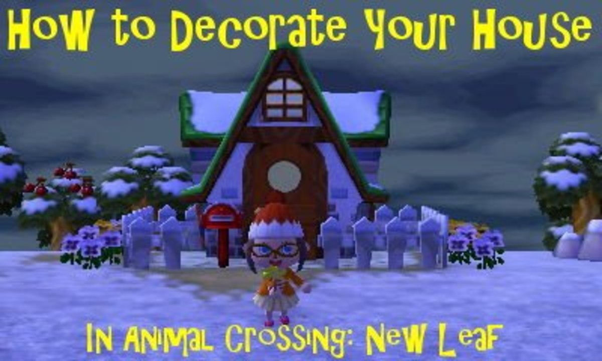 How To Decorate Your House In Animal Crossing New Leaf