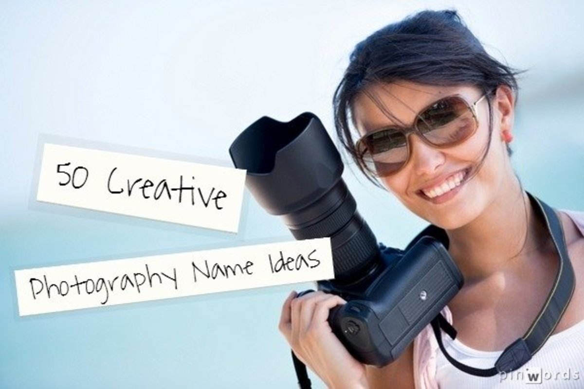 50 Creative Photography Name Ideas
