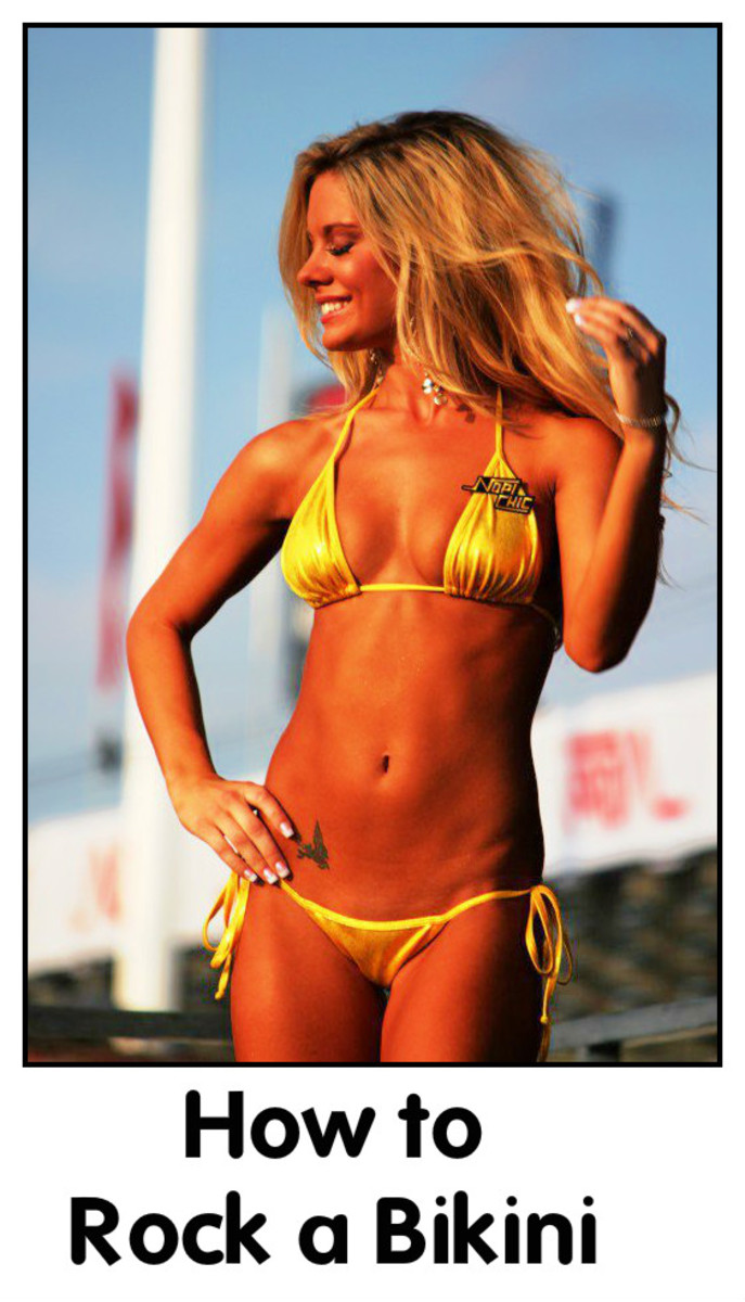 Get Swimsuit Sexy: How to Rock a Bikini (With Photos)