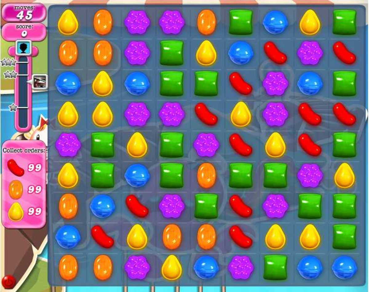 How to make wrapped candy in crush level 140