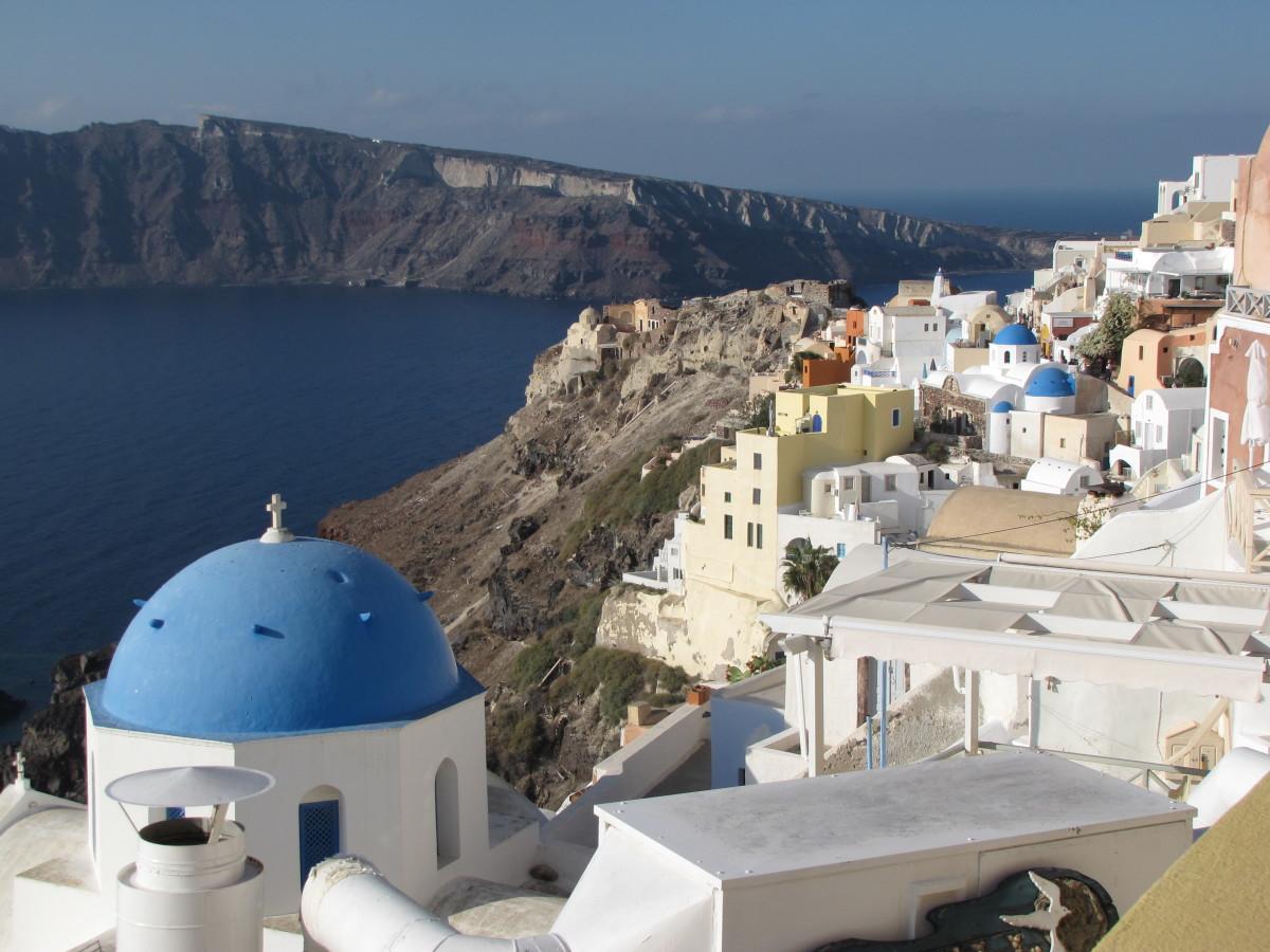 One Day in Santorini, Greece