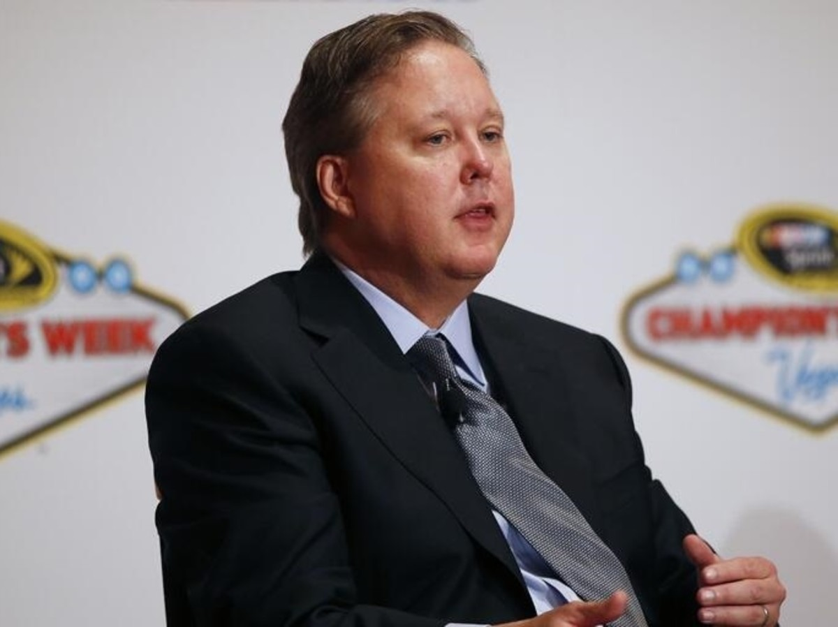 "Brian France has been the driving force behind NASCAR's push for ""Game 7"" moments"
