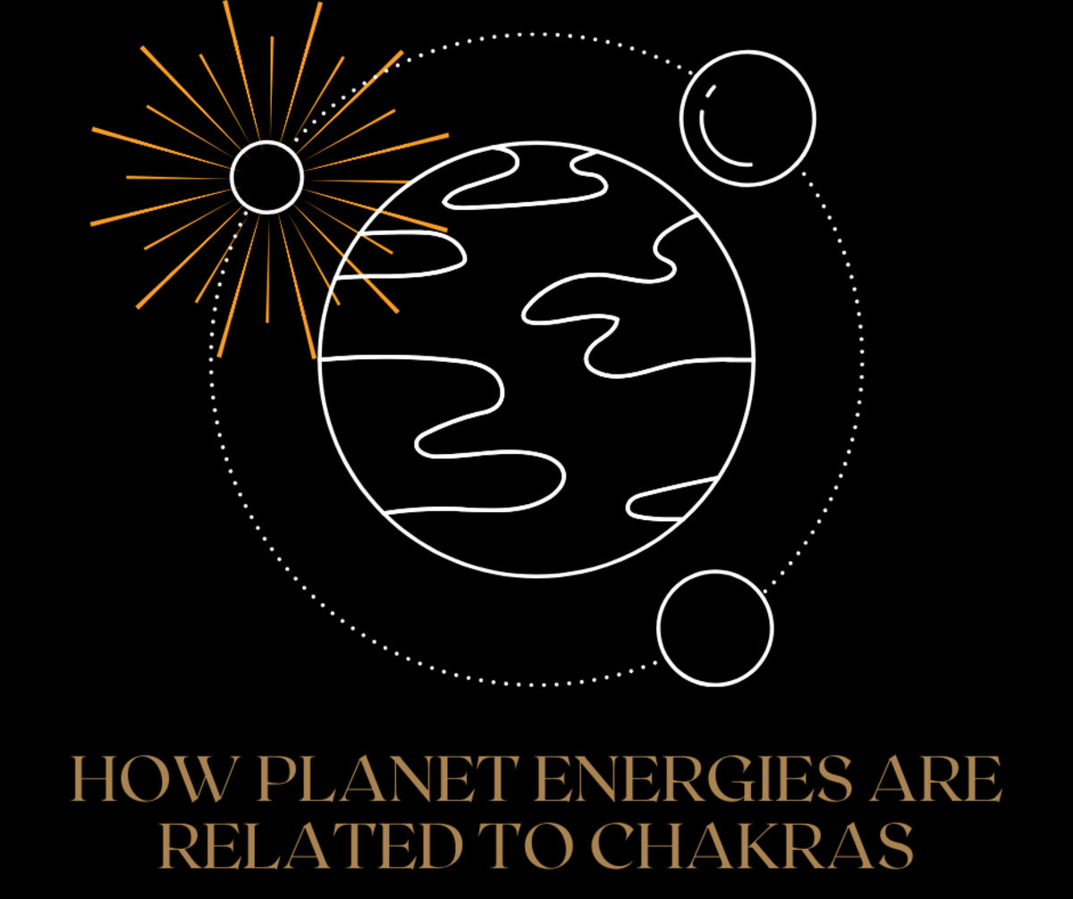 Read on to learn how planet energies are related to chakras.