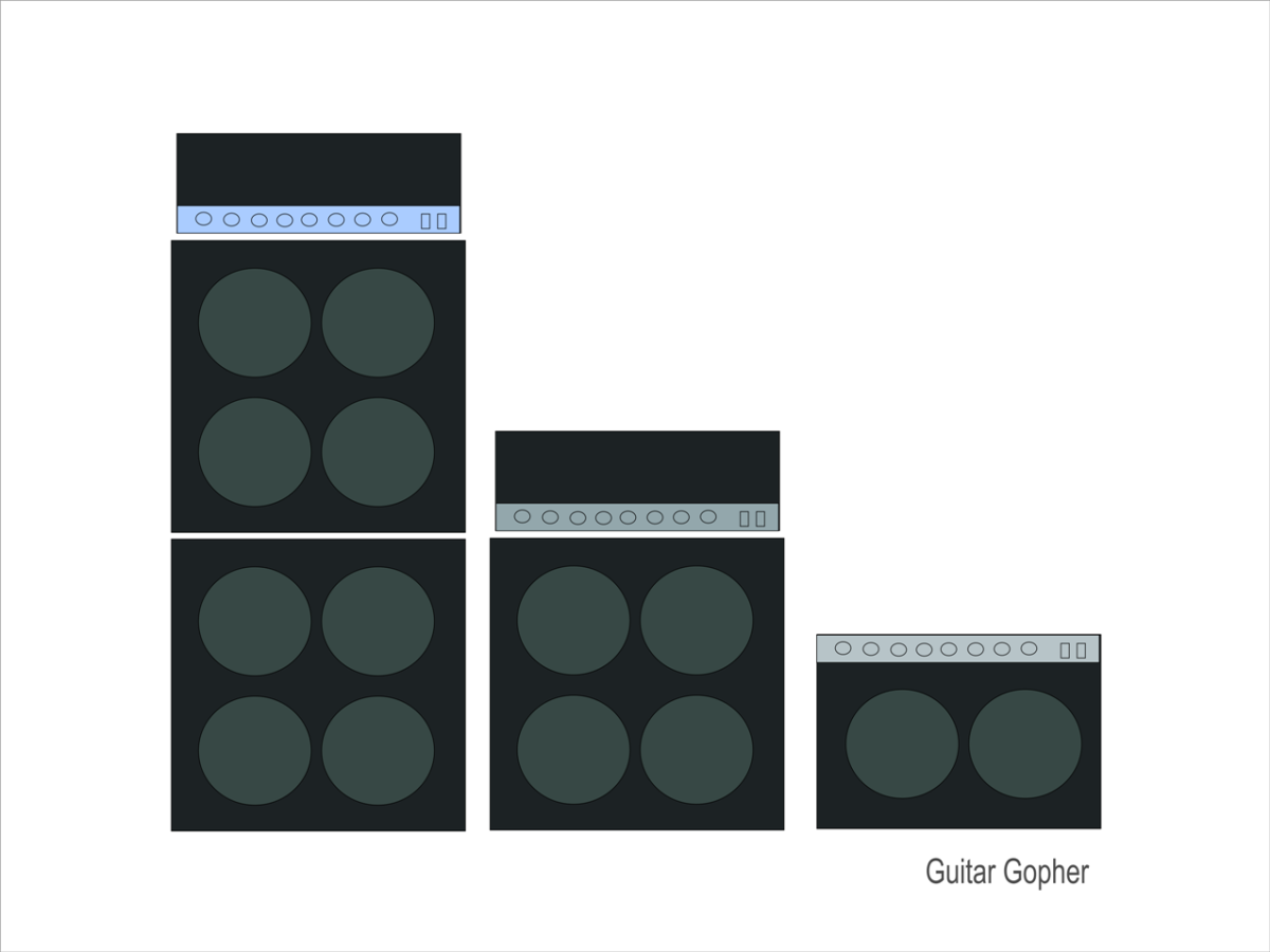 Half Stack vs. Full Stack vs. Combo: Which Guitar Amp in a Band?