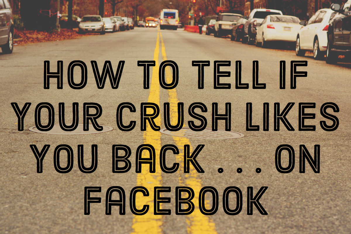 flirting signs on facebook images free images