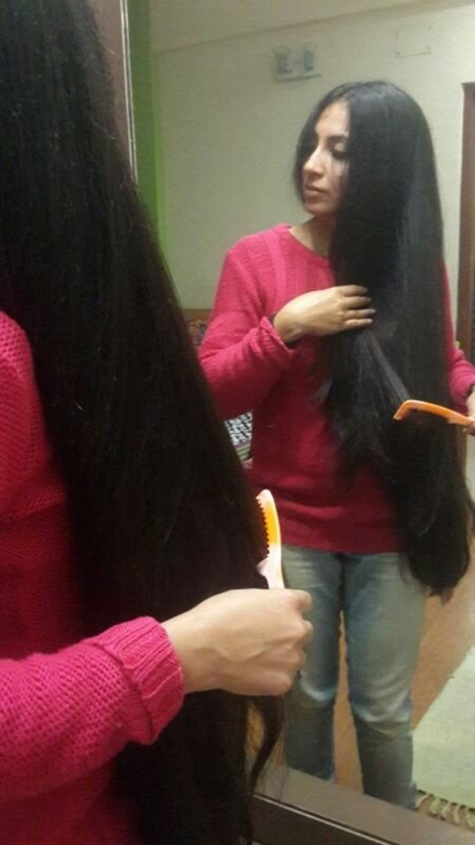 how to make hairoil for thick lustrous and long hair