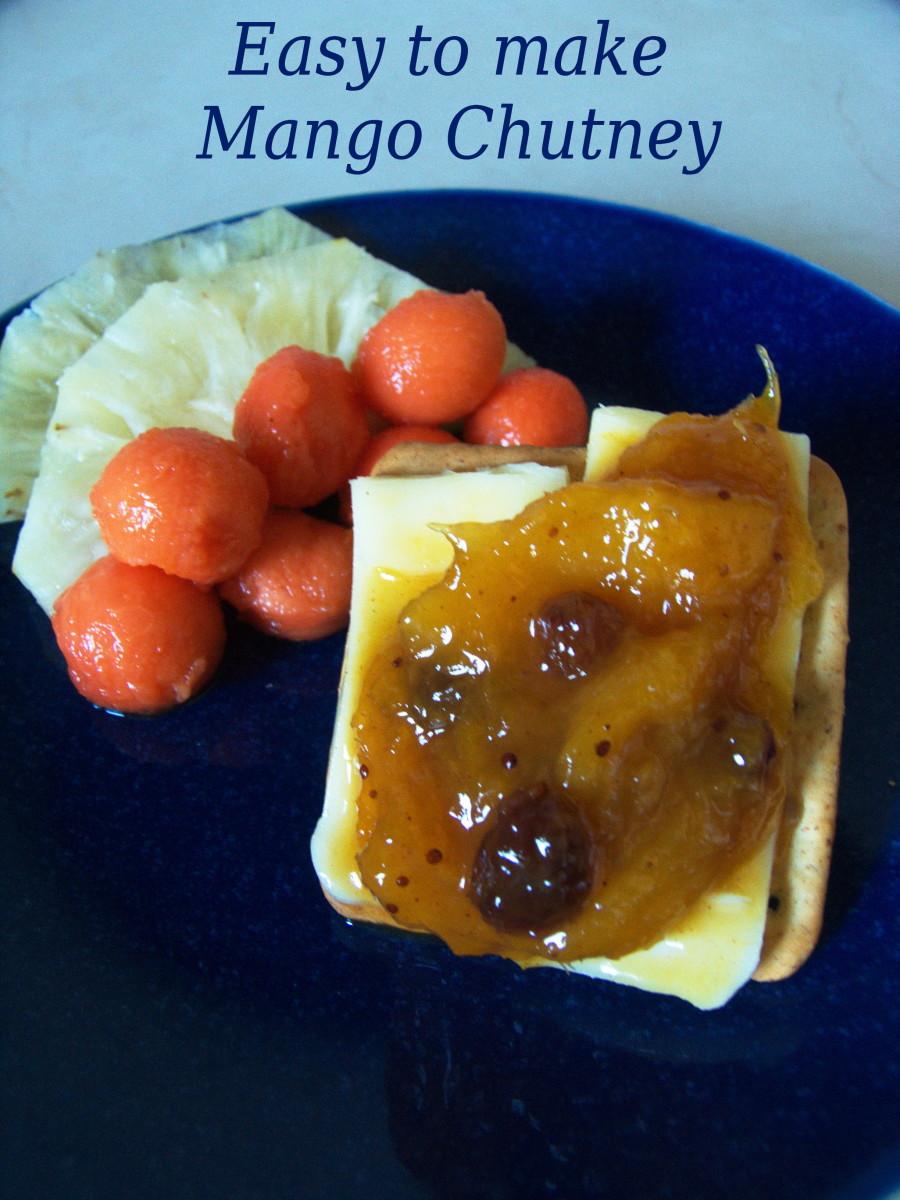 Easy to Make Mango Chutney