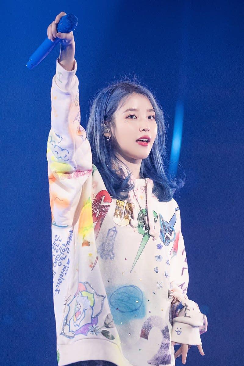 """IU in """"Love Poem"""" Concert in Seoul on 23rd November 2019"""