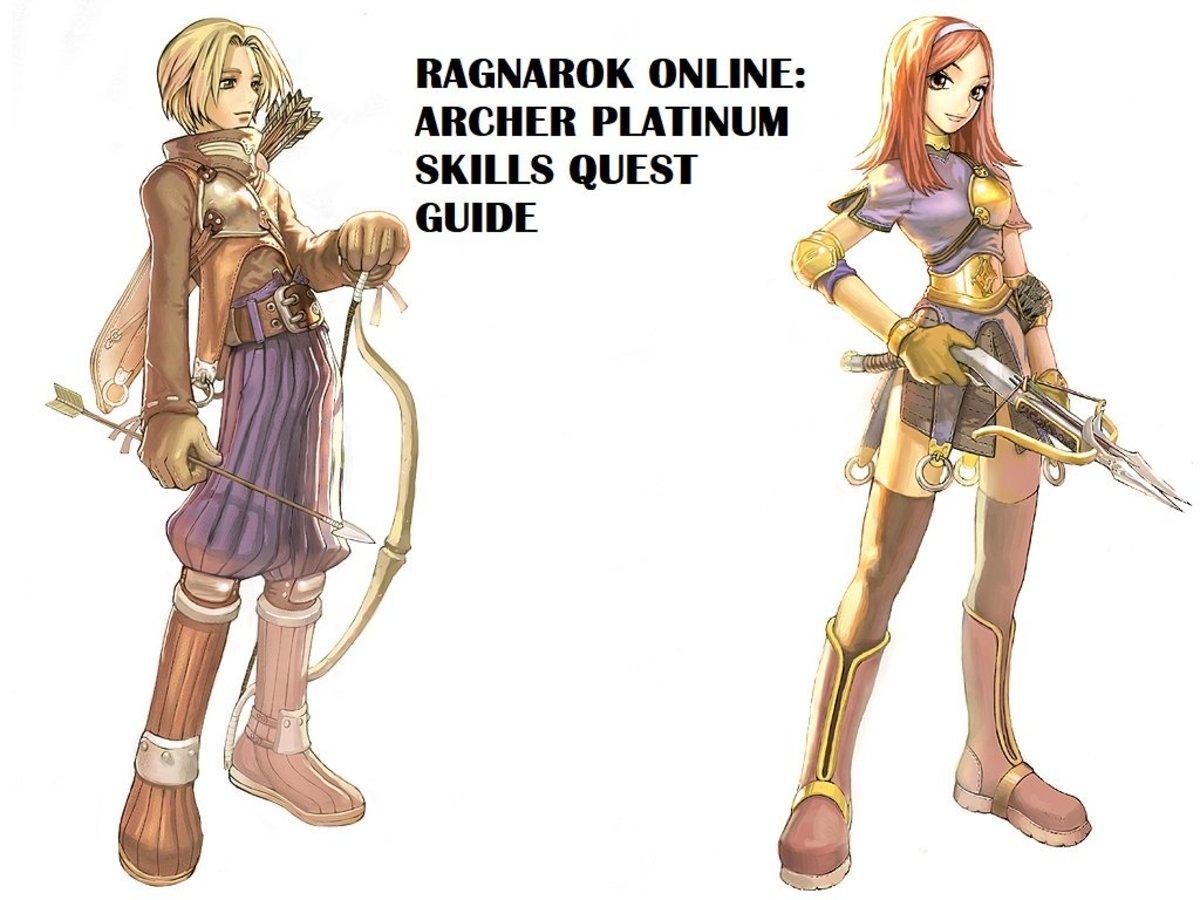 Ragnarok Online: Archer Platinum Skills Quest Guide