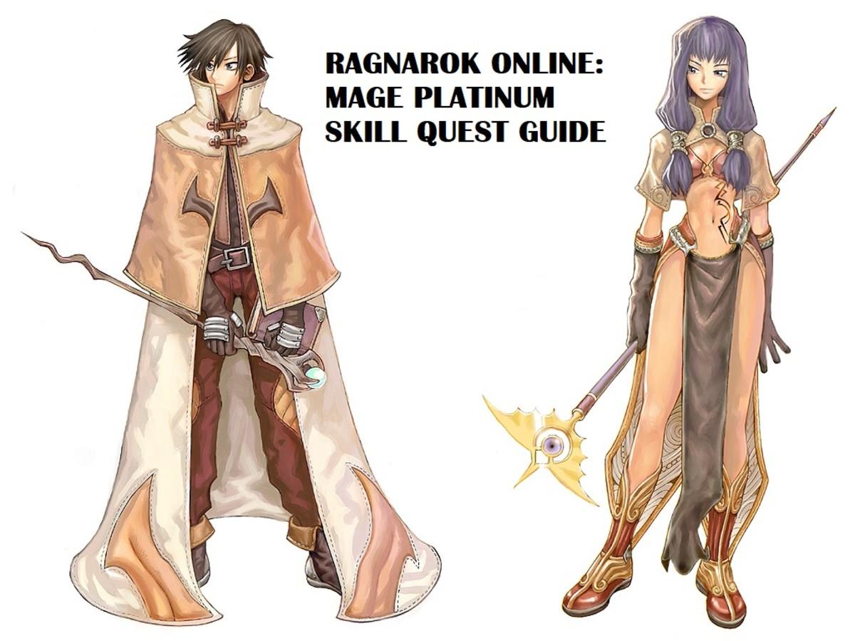 Ragnarok Online Mage Platinum Skill Quest Guide