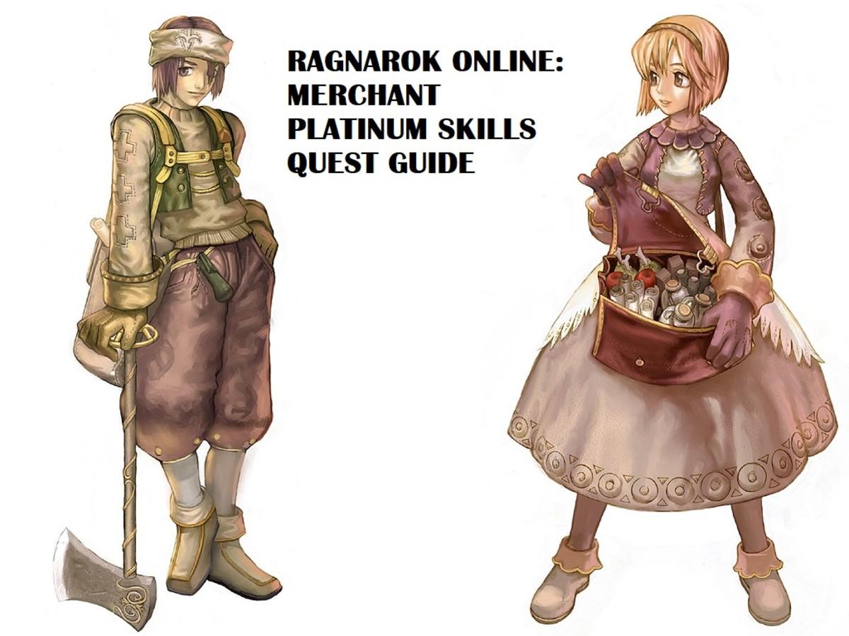 Ragnarok Online: Merchant Platinum Skills Quest Guide