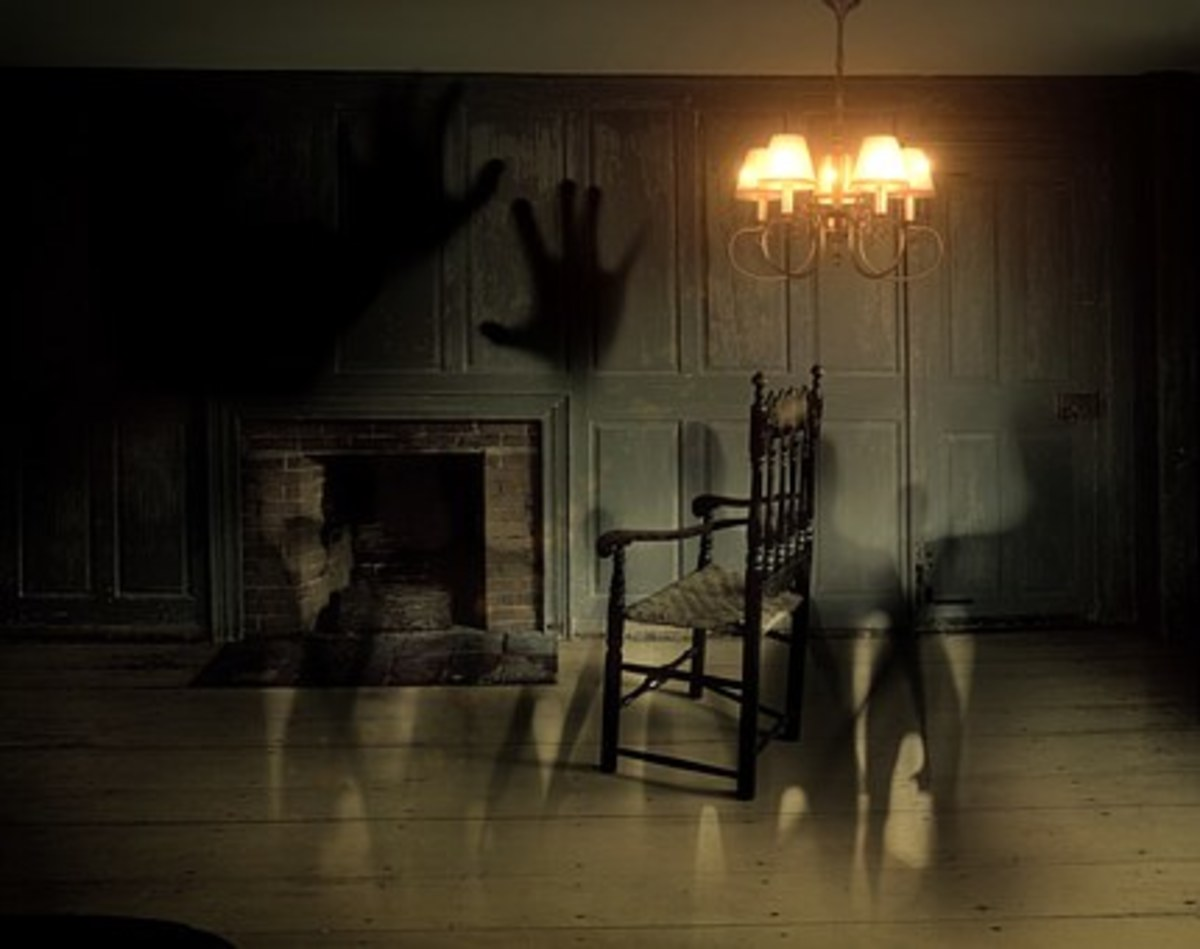 On the rare occasions that a ghostly image is captured on film, it is usually not by accident.