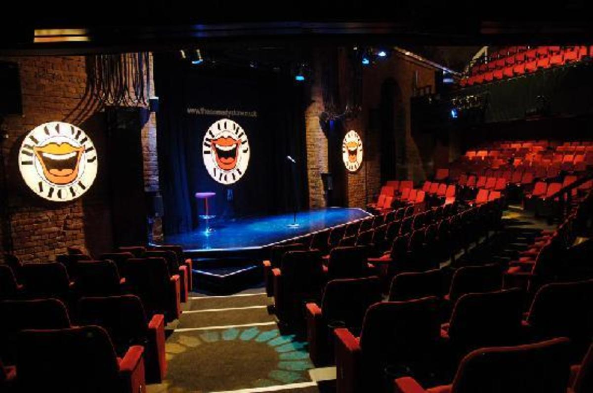 Hollywood Hauntings:  The Comedy Store