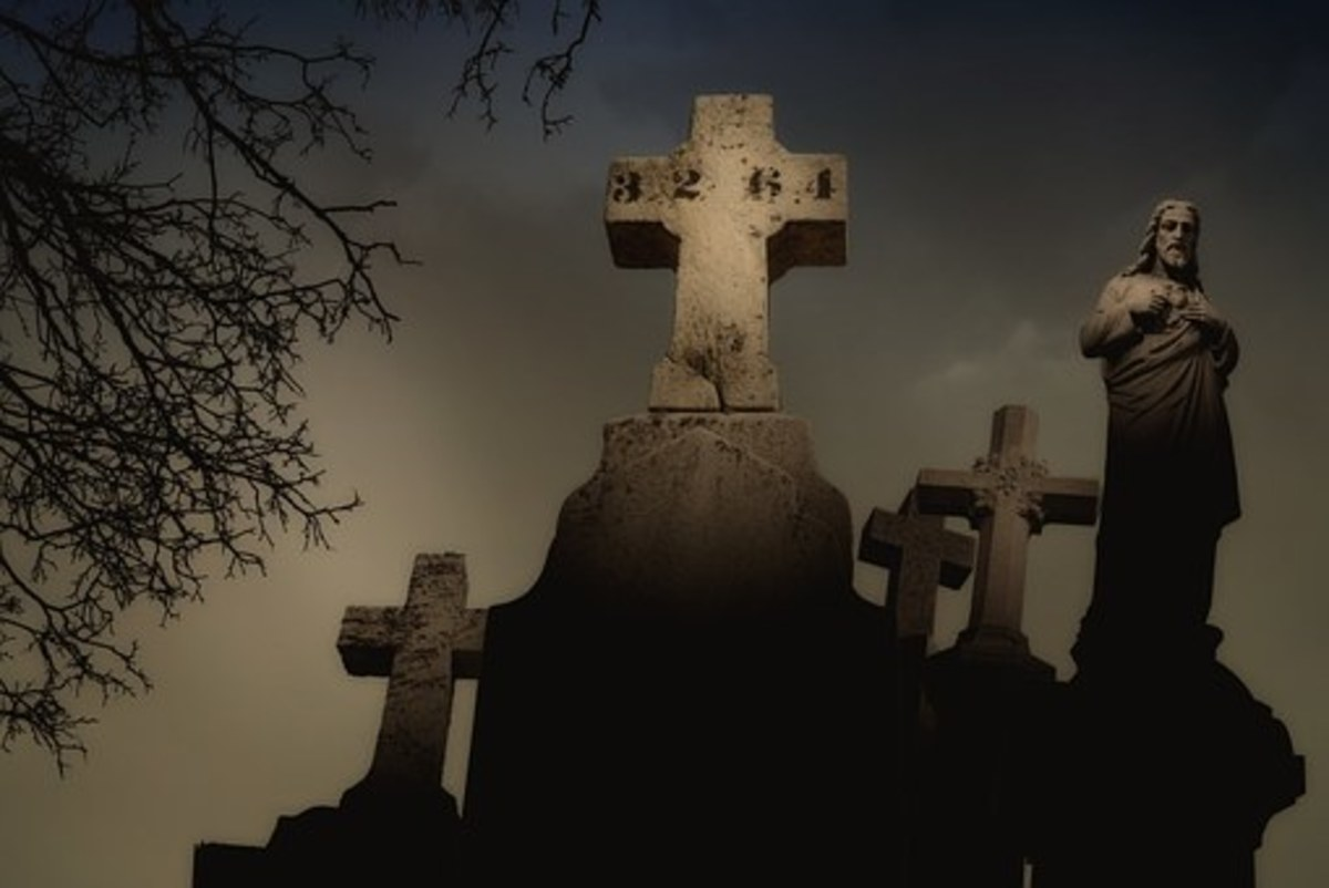 When the Shadows Lengthen:  Haunted Cemeteries