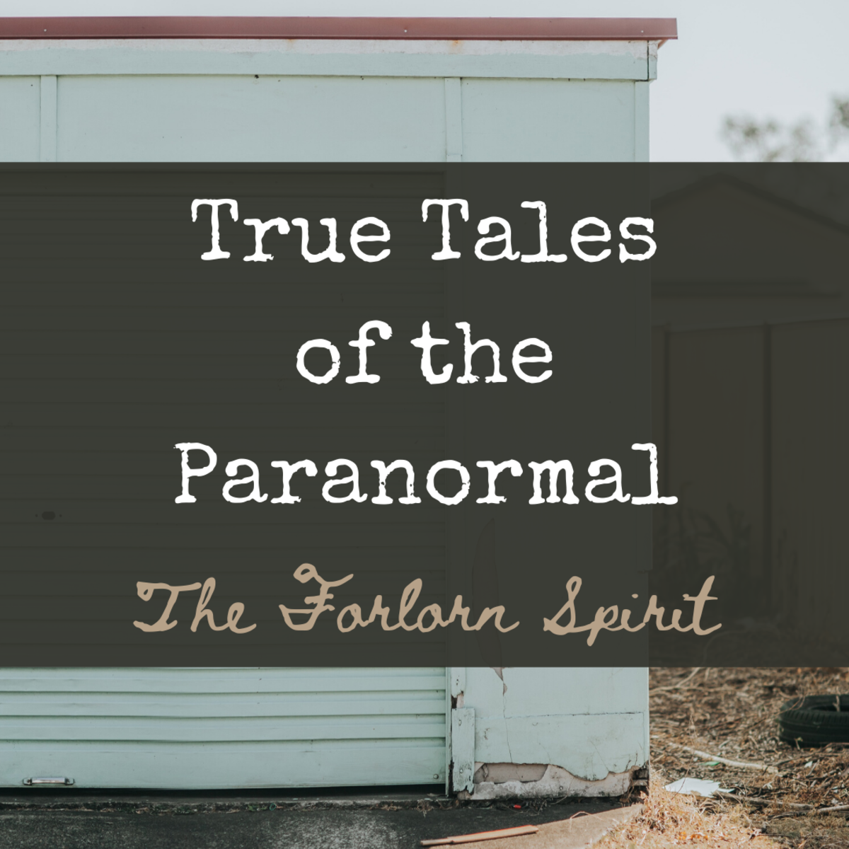 True Ghostly Tales: The Forlorn Spirit