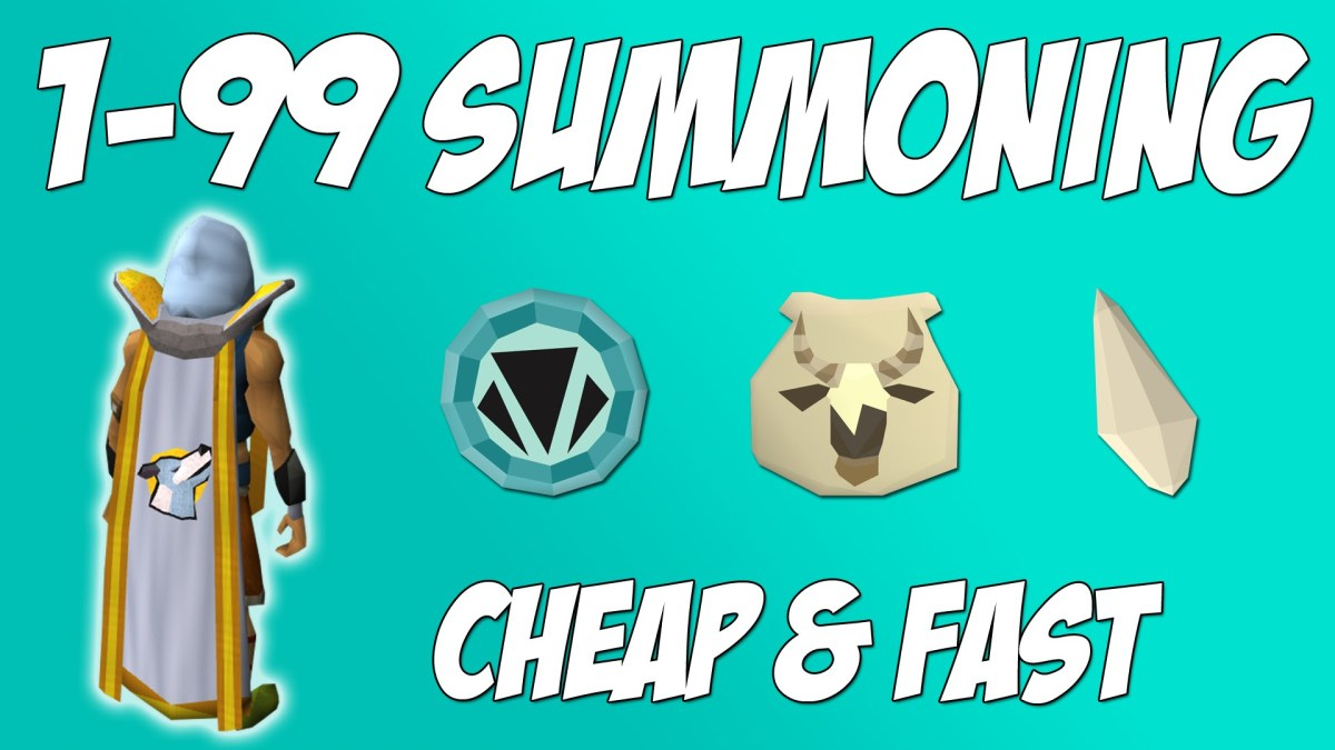 "Learn how to train up the Summoning skill in ""RuneScape 3"" the easy way!"