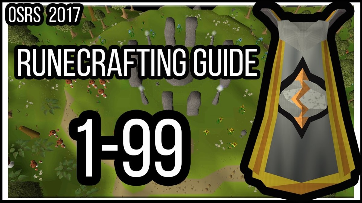 Old School Runescape: 1-99 P2P/F2P Runecrafting Training Guide 2017 OSRS