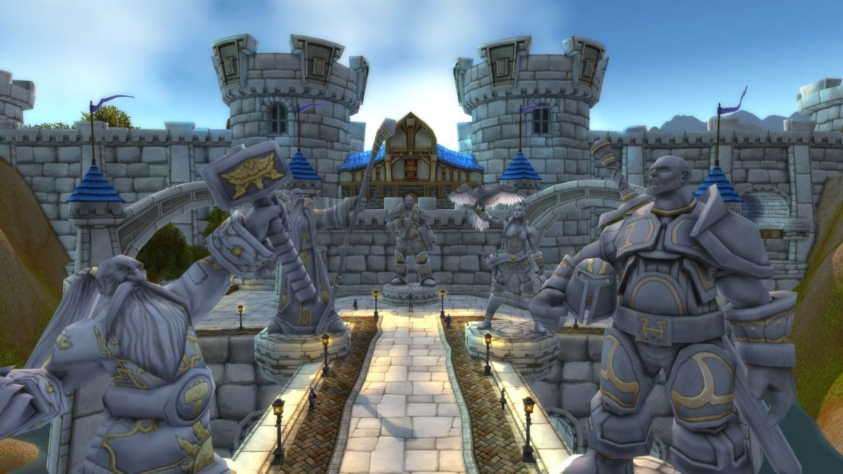 Stormwind City Entrance