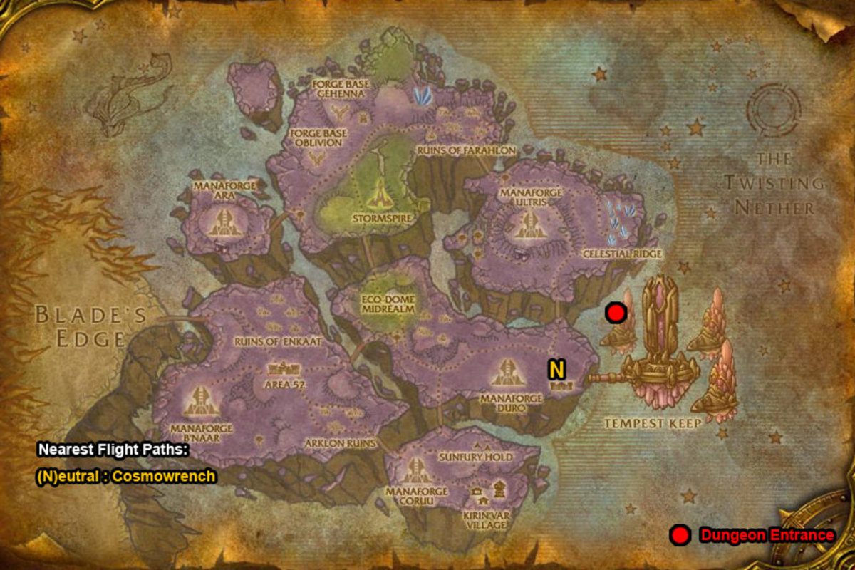 WoW Dungeon Gold Farming Guide: The Botanica