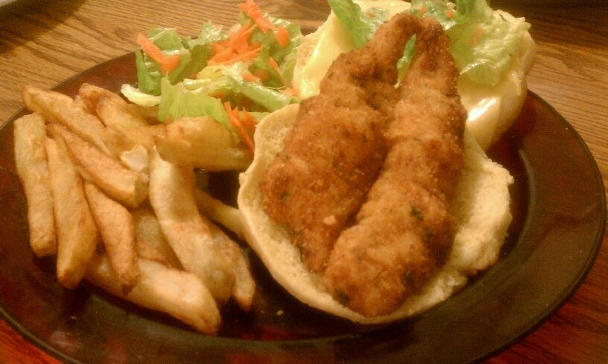 Frying Fish: How to Cook Breaded, Fried Lake Erie Perch in a Cast Iron Skillet