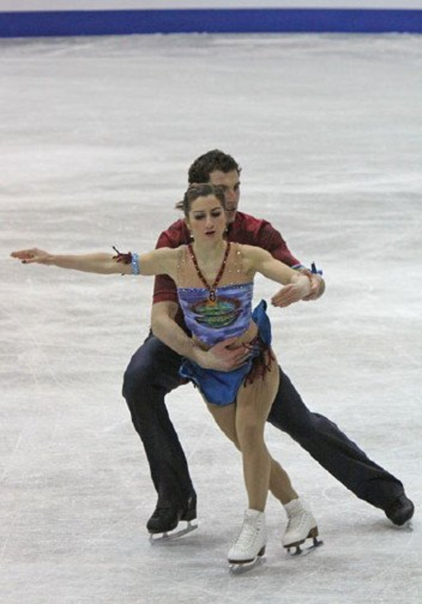 Figure skating...one of the most beautiful and graceful sports in the Winter Olympics.