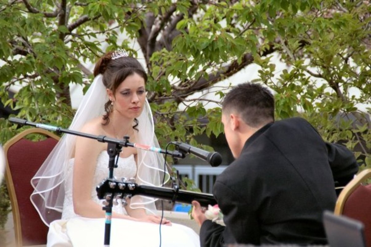 Music is an important element of a wedding celebration