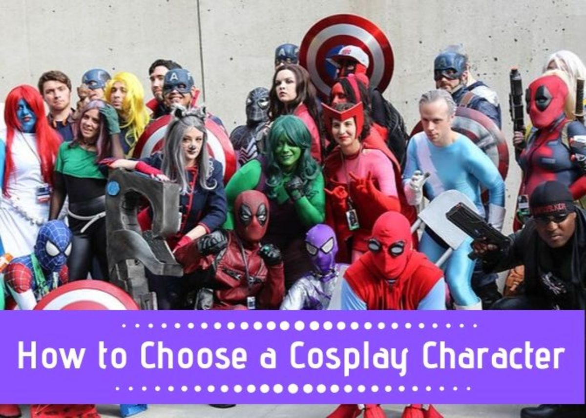 There are so many cosplay possibilities, but it can be difficult to make a decision.