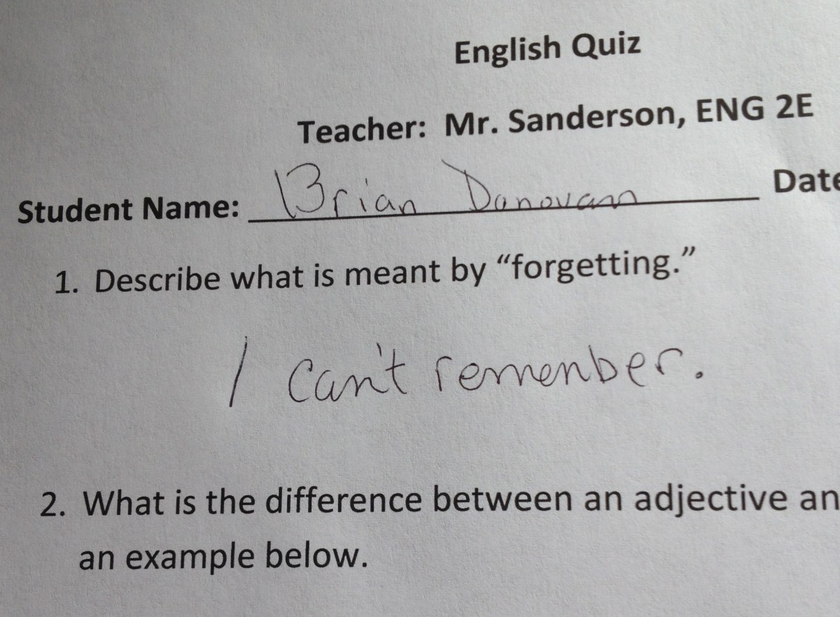 funny homework papers