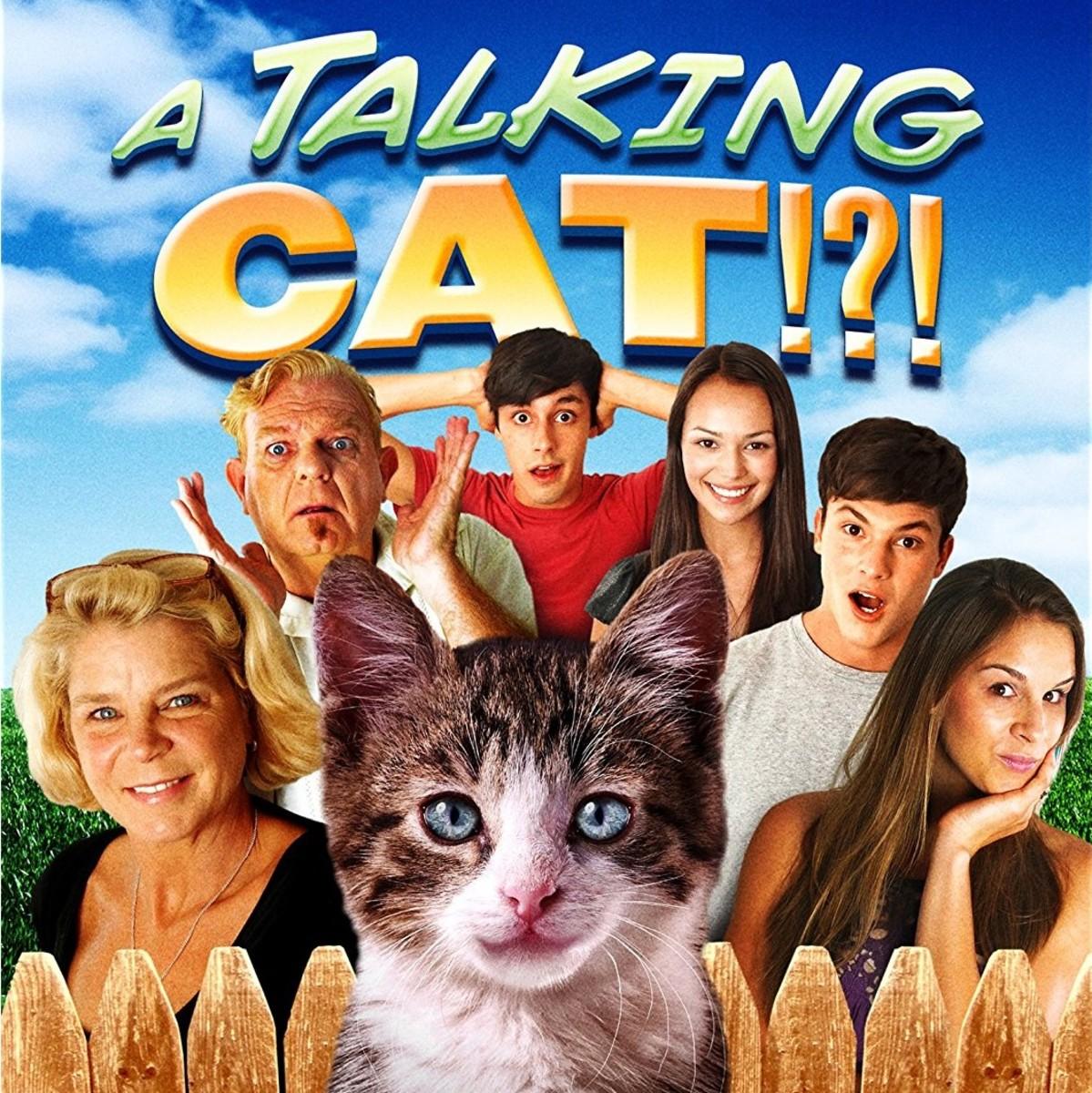 "Crappy Kid Movie Alert! Beware of ""A Talking Cat!?!"""