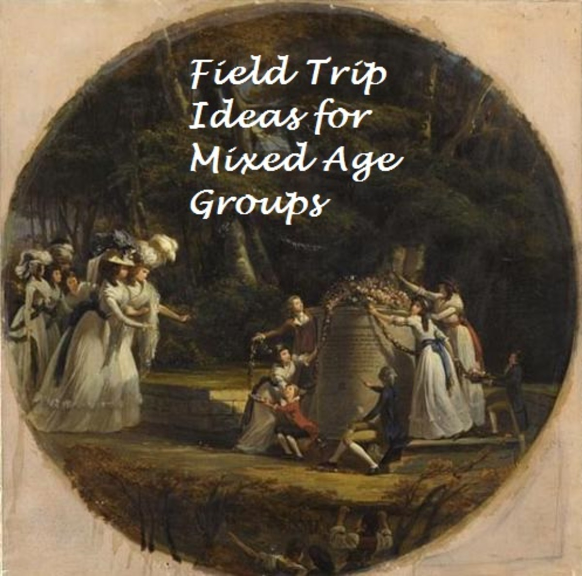 It is so hard to plan a field trip for a mixed age group such as homeschoolers.