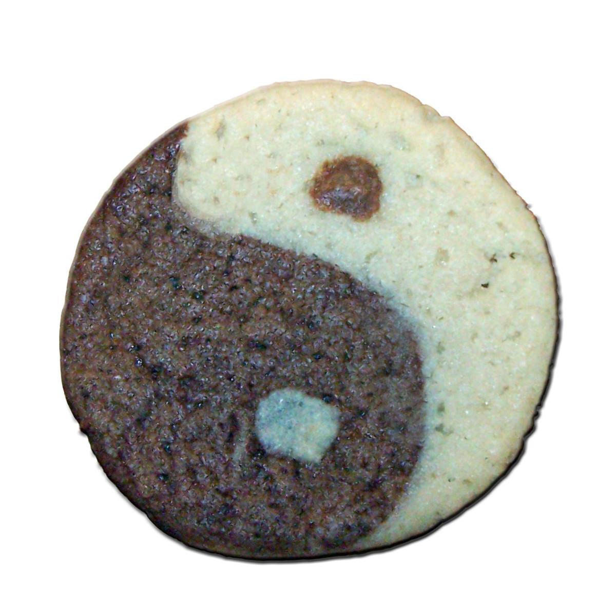 Equinox Yin/Yang Cookies for Balance