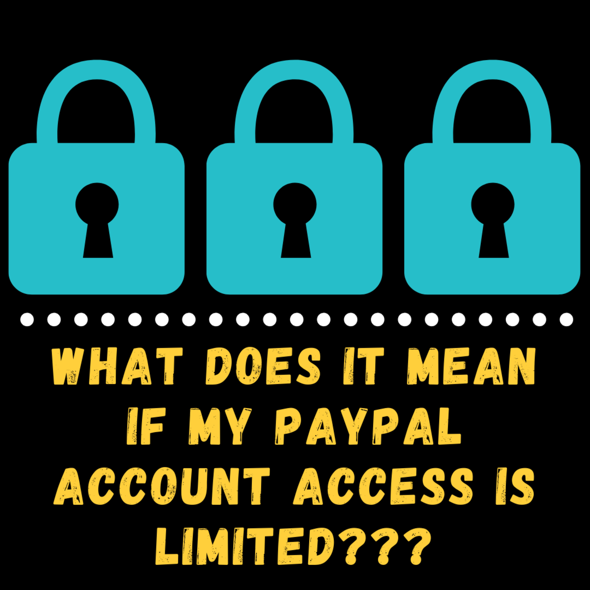 Figure out what to do if your PayPal account access is limited.