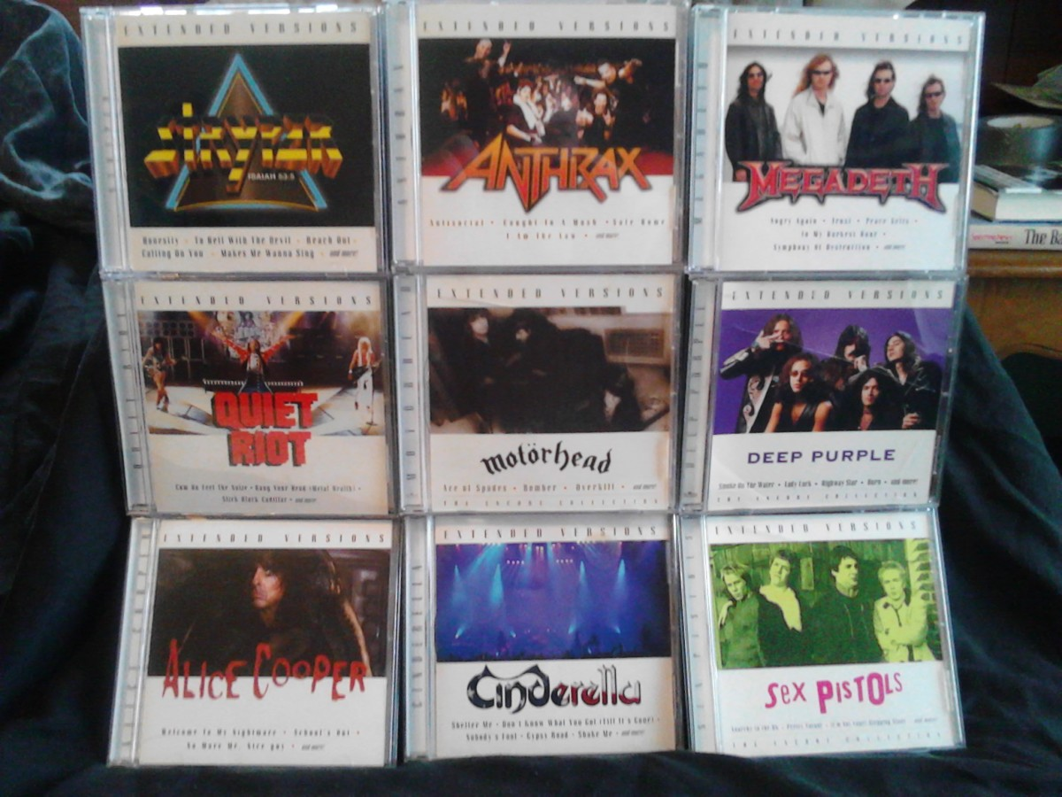 "A sampling of the author's small - but growing! - collection of ""Extended Versions"" CDs"