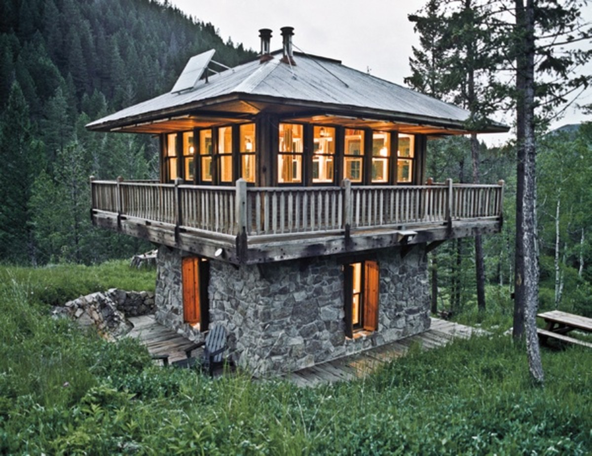 Jeff Shelden Montana Tiny Cabin