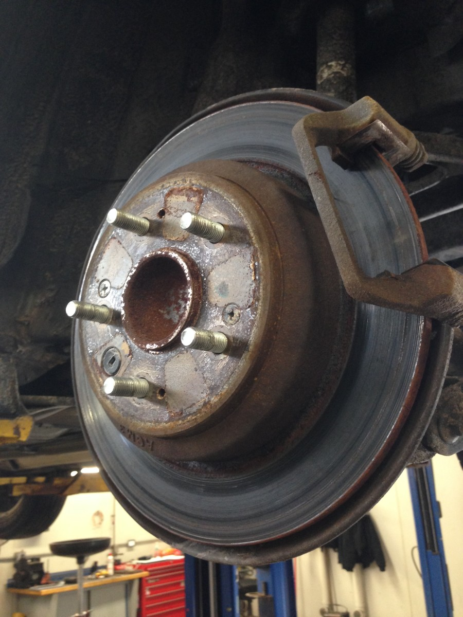 Four Common Types of Brake Squeaks