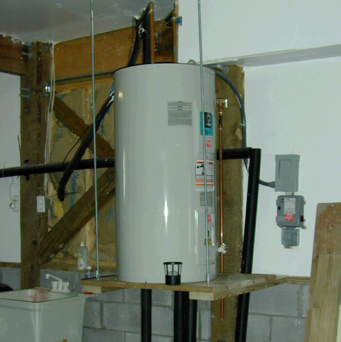 repairing common electric water heater problems