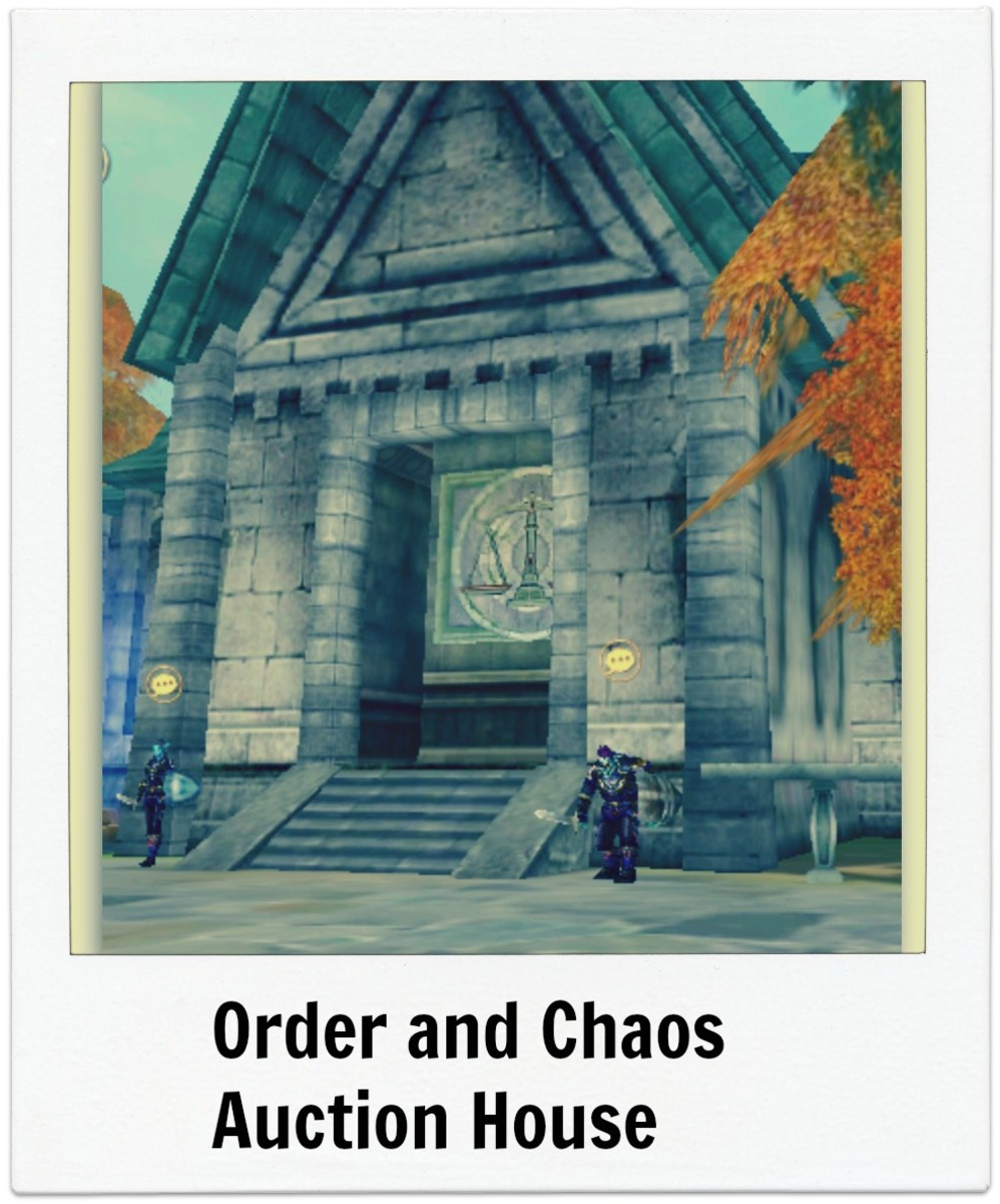 How to Use the Auction House on Order and Chaos :Secret Tips and Tricks