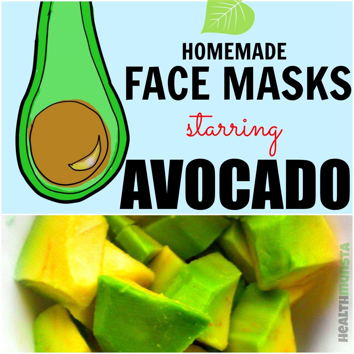 avocado DIY face masks