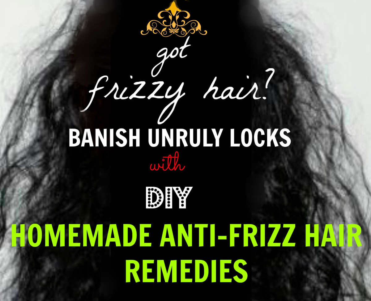 DIY Hair Masks for Frizzy Hair—Homemade & Natural