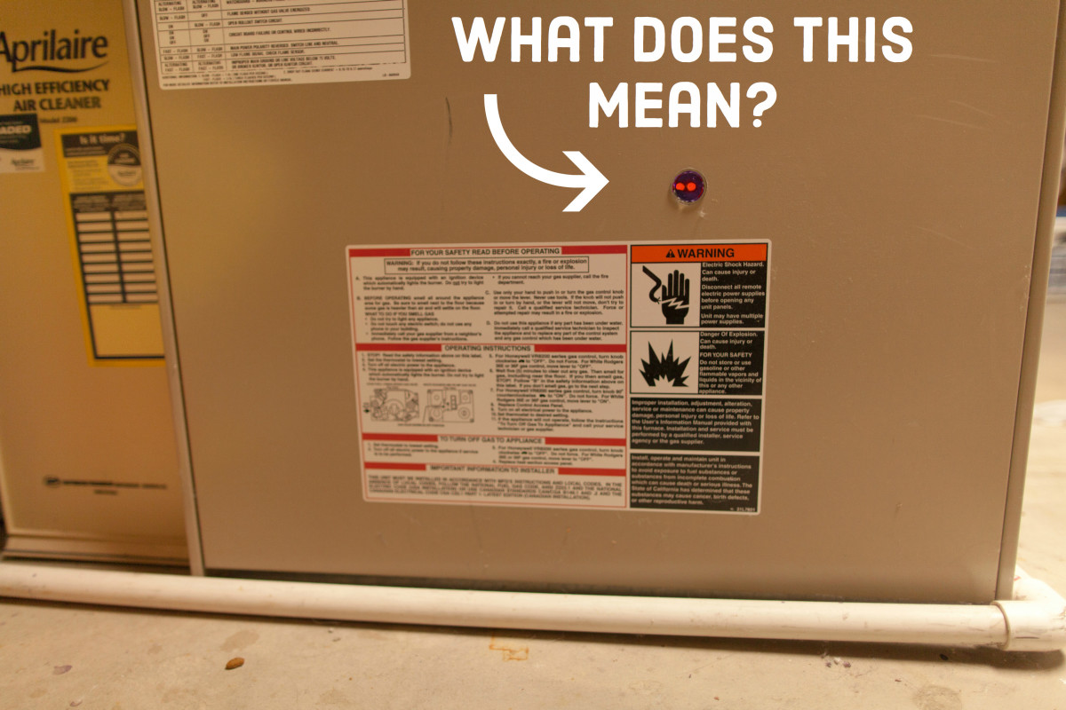 How to Diagnose Furnace Problems & Why Red Light Is Blinking