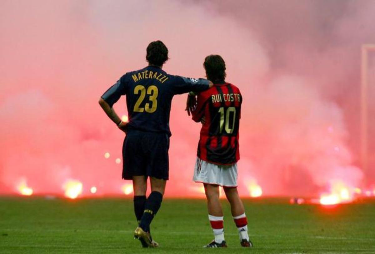 The 2005 Milan derby.