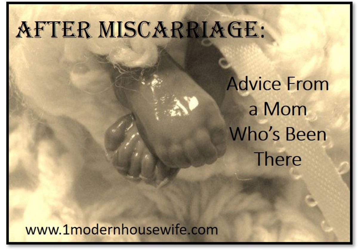 After Miscarriage: Miscarriage Advice From a Mom Who's Been There