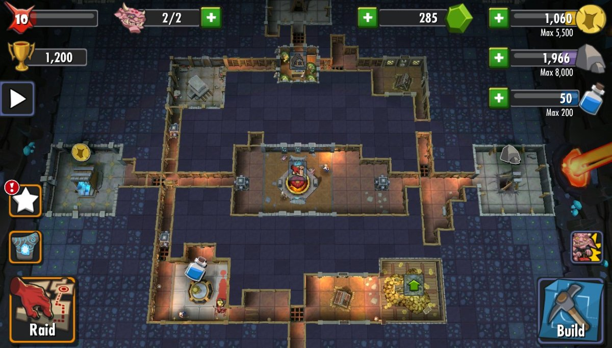 Dungeon Keeper for Android: Tips and Tricks