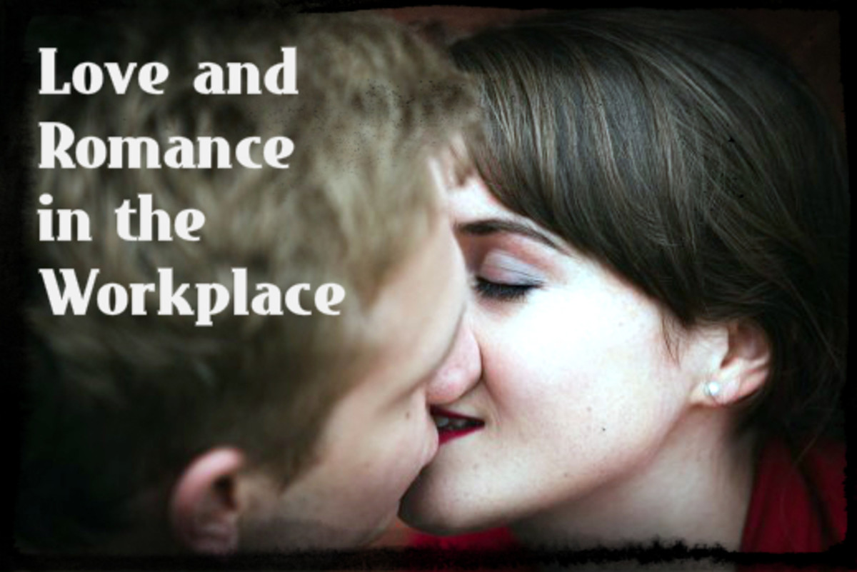 Although companies often have policies limiting workplace romances, love at the office is thriving.  Could Romeo be only a cubicle away?  What are you willing to risk to find out?