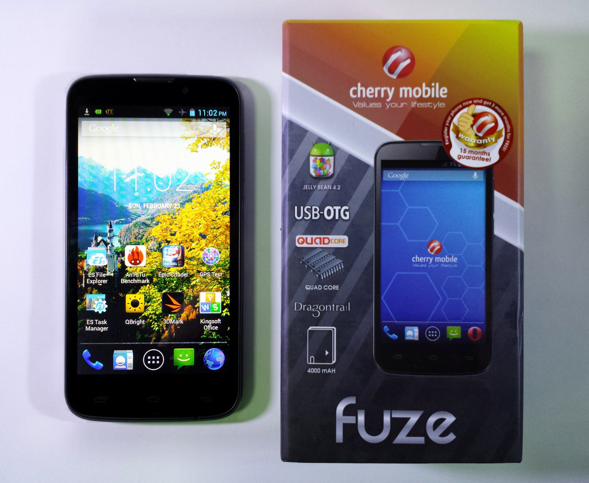 Cherry Mobile Fuze Review