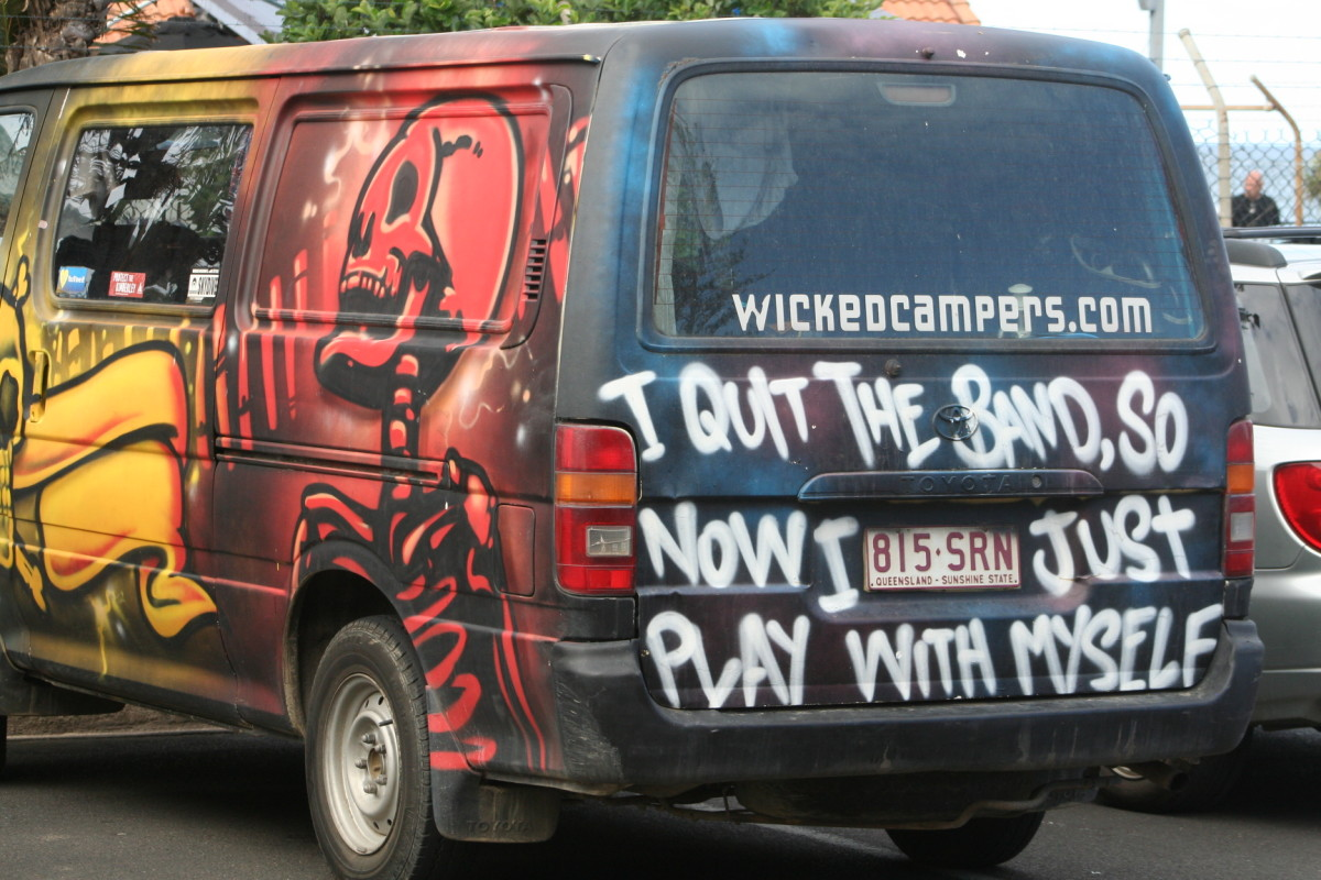 Five Ways Wicked Camper Rentals Can Ruin Your Holidays