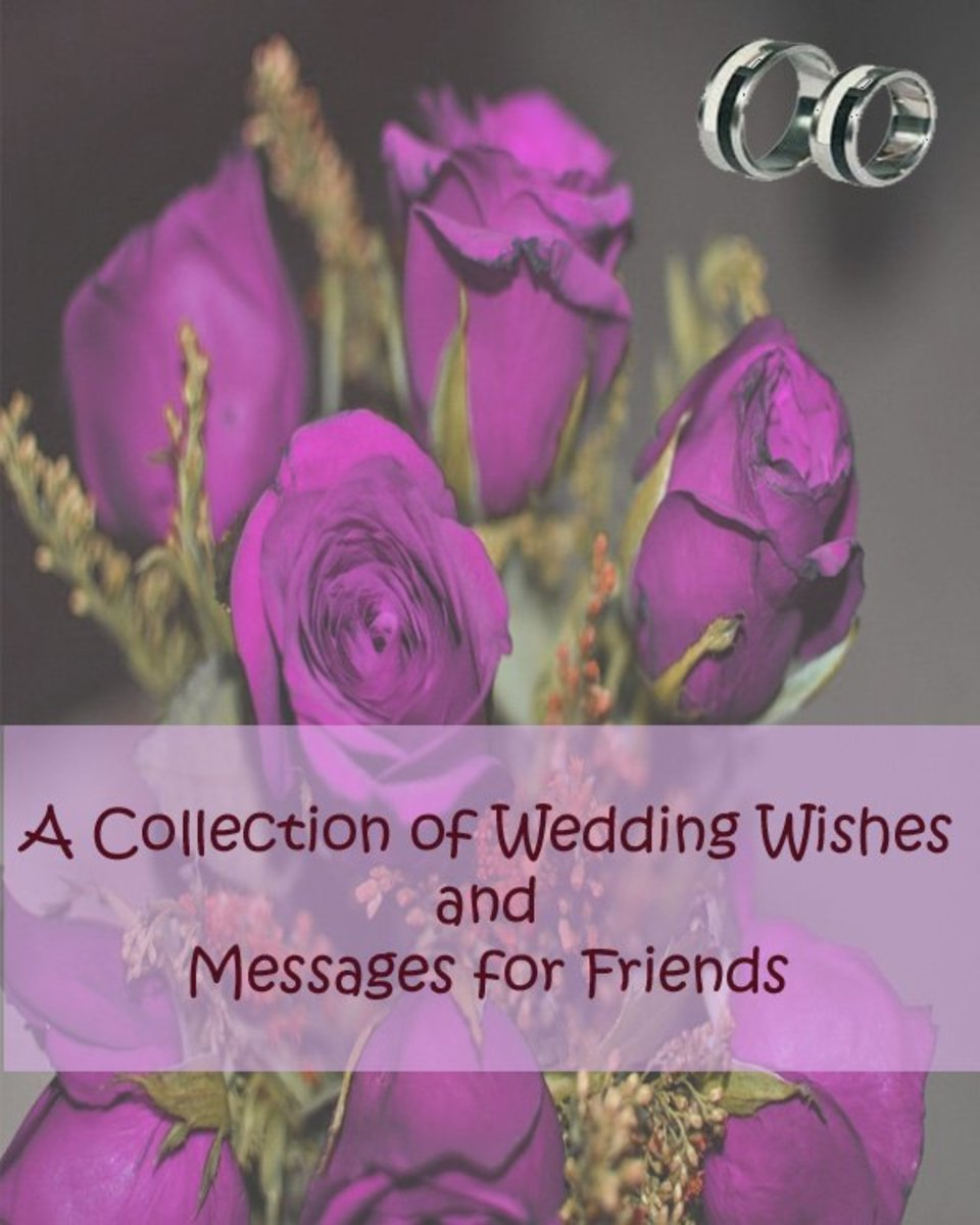 A collection of wedding wishes and messages for friends holidappy wedding wishes for friends m4hsunfo