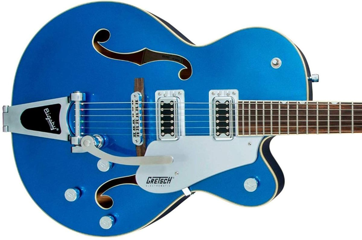 The Gretsch G5420T Electromatic is one of the best jazz guitar choices out there.