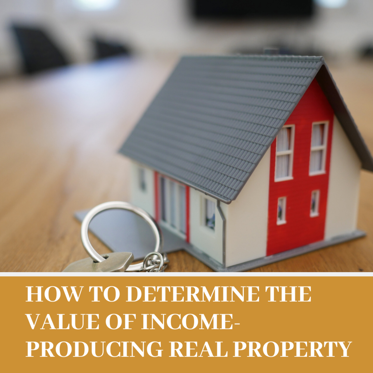 Read on to learn how to determine the value of income-producing real property.