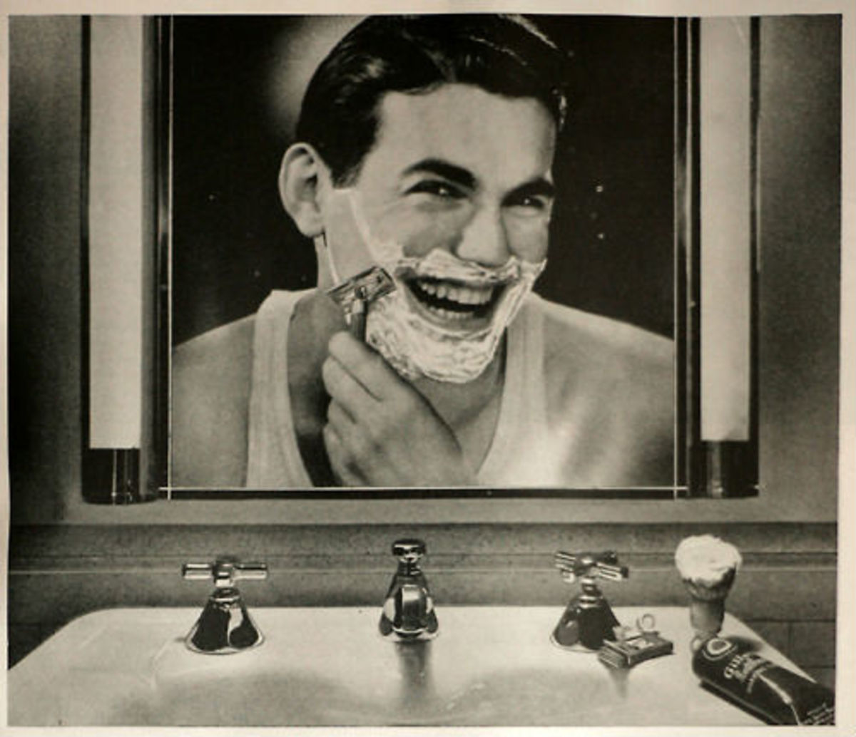 Vintage Gillette Ad